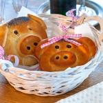 Silvester Hefe Glücks-Schweinchen Neujahr