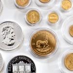 Gold- und Silbermünzen Krügerrand