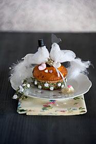 Cupcake Muffin Hochzeit weisse Tauben
