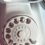 Antikes Nostalgie Telefon Wählscheibe