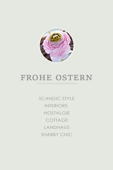 Frohe Ostern - Rosa Ranunkeln