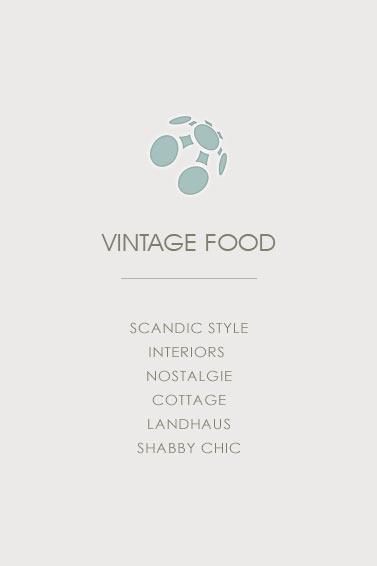 Vintage Food - SCANDIC STYLE INTERIORS  NOSTALGIE COTTAGE LANDHAUS SHABBY CHIC