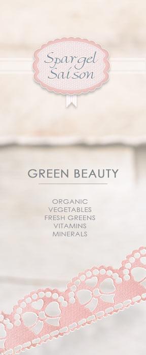 Bund grüner Spargel green Beauty Gemüsespargel