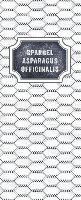 Spargel Asparagus Officinalis