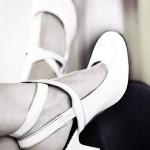 60ties Pumps Füße hochlegen