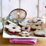 Hildabrötchen Weihnachtsplätzchen Buchweizen Marmelade