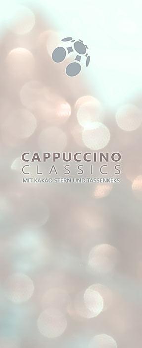 Kaffee trinken Cappuccino classics