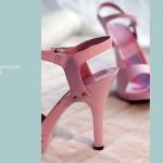 Rosa High-Heels Fashion
