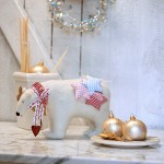 8109-Weihnachten-Eisbär Handarbeit Weihnachtskugeln Herzen Sterne