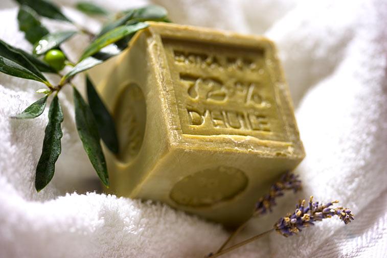 Olivenseife Oliven-Zweig Olivenöl Naturseife