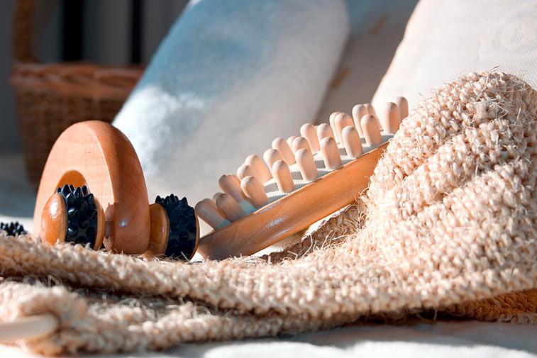 massage set wellness cellulite roller b rste sisal band. Black Bedroom Furniture Sets. Home Design Ideas