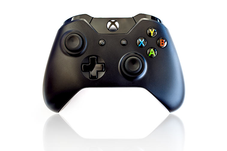 Xbox One wireless Controller schwarz