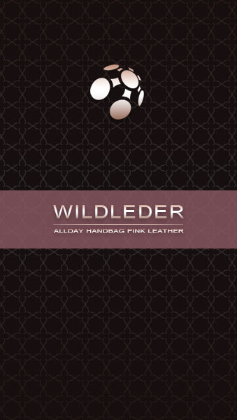 Wildleder Umhängetasche pink