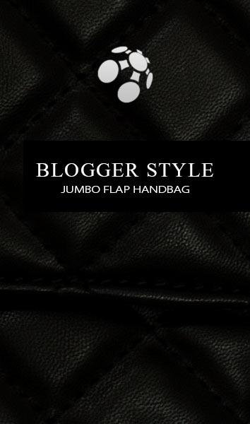 Jumbo Flap-Handbag Blogger Style