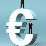 Eurozeichen Euro-E Manager Businessbild