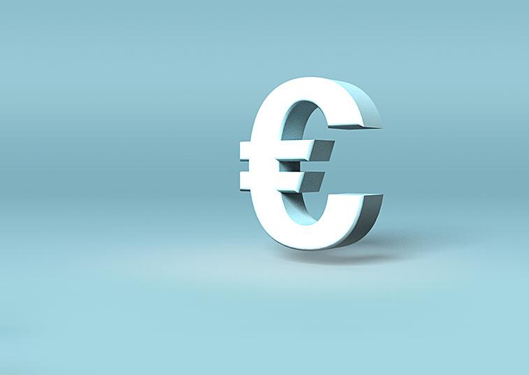 Eurozeichen Euro-E Symbol