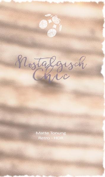 Krokusse nostalgisch chic Matte Tonung HDR