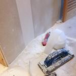 Rigips Schleifarbeiten Gewebe-Band schleifen Trockenbau Schleifgitter