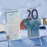 20 Euro Puzzleteil