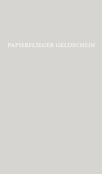 Papierflieger aus einem Euroschein