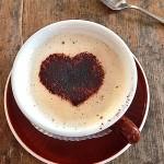 Cappuccino Herz