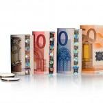 Geldschein Rollen