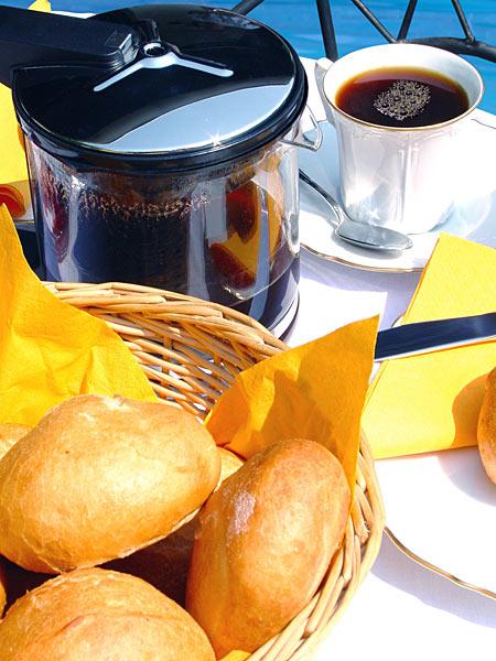 Kaffeetasse Brötchen