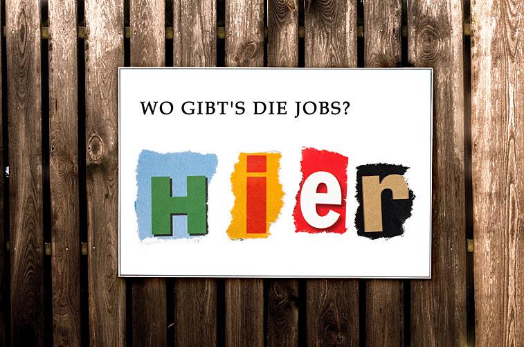 Plakatwand Jobs