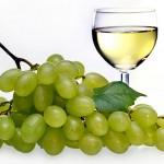 Weintrauben Wein