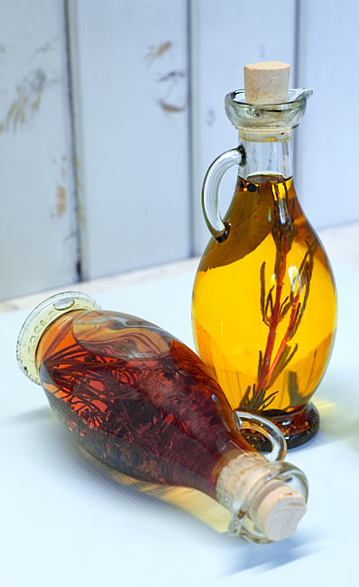 Kräuteressig Kräuteröl