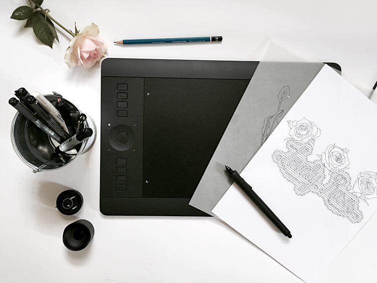 wacom intuos pro grafiktablett. Black Bedroom Furniture Sets. Home Design Ideas