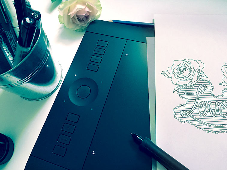 Zeichnen Grafiktablett