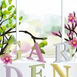 Blühender Garten Saison
