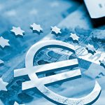 Euro-E Geldschein blau