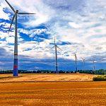 Windräder Sommerfeld