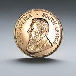 Krügerrand Goldmünzen Kopf