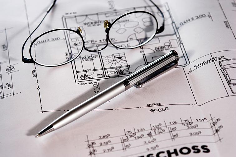 Bauplan Lesebrille Kugelschreiber