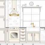 Küchenplanung Zeichnung