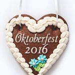 Lebkuchenherz Oktoberfest 2016