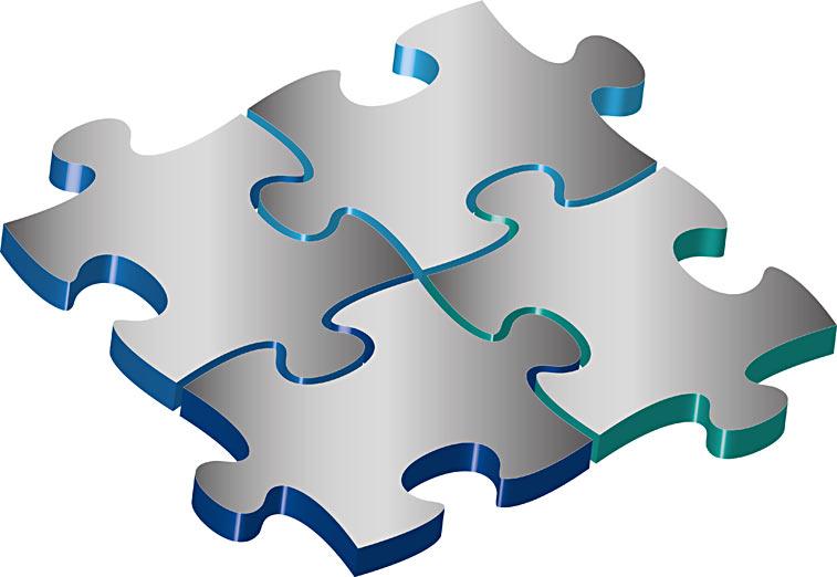 4 Puzzleteile