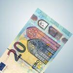 Neuer 20 Euro Schein Sichtfenster