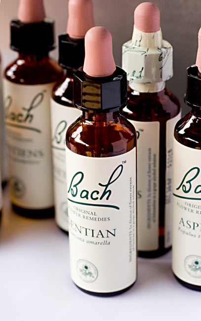 Bachblüten Flaschen