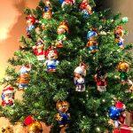 Weihnachtsbaum Tannenbaum-Christbaumkugeln Mainzelmaennchen