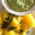 Kartoffeln grüne Soße