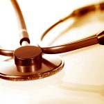 Stethoskop Sepia