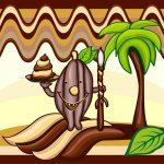 Kakaobohne Schokoladenmousse