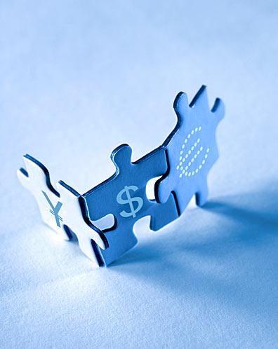 Puzzle Euro Dollar Yen