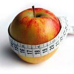 Apfel mit Massband