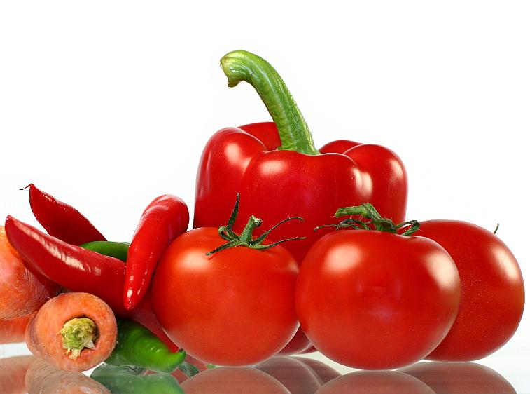 tomaten paprika karotten chili. Black Bedroom Furniture Sets. Home Design Ideas