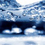 Kochendes Wasser blubbert